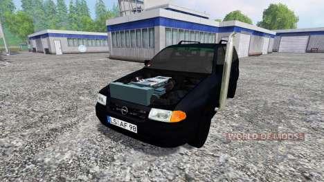 Opel Astra F Caravan [dragster] для Farming Simulator 2015