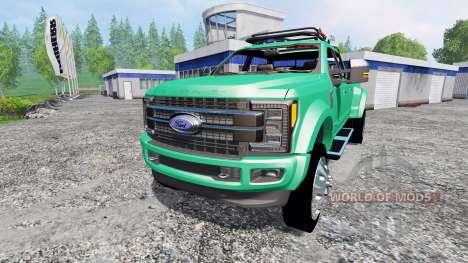 Ford F-450 Super Duty 2017 [platinum edition] для Farming Simulator 2015