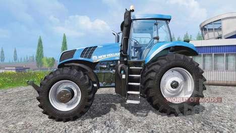 New Holland T8.320 [real engine] для Farming Simulator 2015