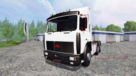 МАЗ-6422 для Farming Simulator 2015