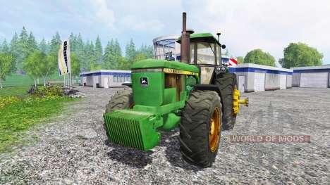 John Deere 4650 v2.1 для Farming Simulator 2015