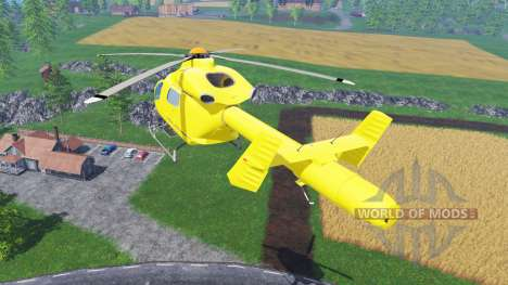 Eurocopter EC145 для Farming Simulator 2015