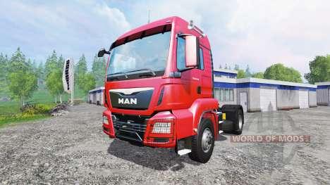 MAN TGS 18.440 [real engine] для Farming Simulator 2015