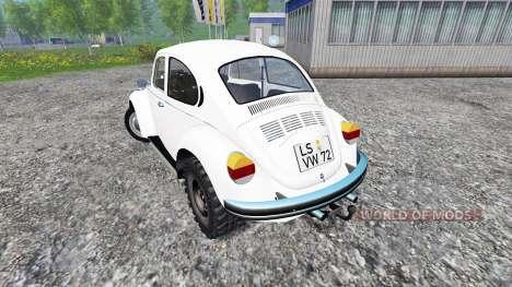 Volkswagen Beetle 1973 [dragster] для Farming Simulator 2015