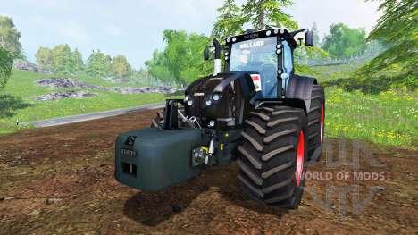 CLAAS Axion 850 [Black Edition] для Farming Simulator 2015