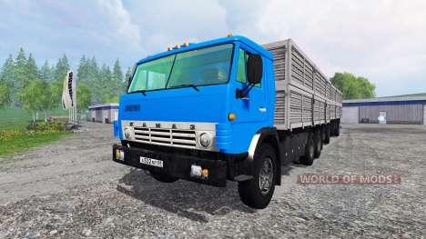 КамАЗ-53212 [прицеп] для Farming Simulator 2015