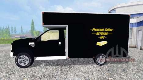 Ford F-250 [PV Rivers Goldtransporter] для Farming Simulator 2015