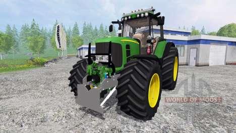 John Deere 7530 Premium для Farming Simulator 2015