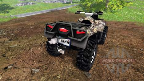 Can-Am Outlander 1000 XT для Farming Simulator 2015