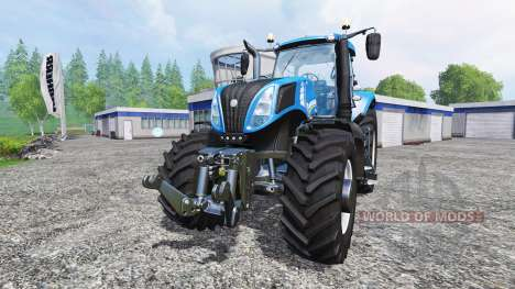 New Holland T8.320 [real engine] для Farming Simulator 2015
