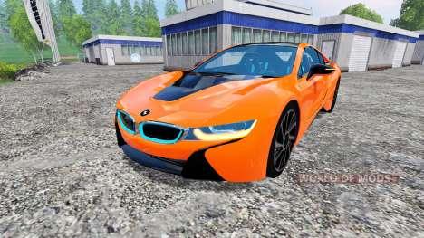 BMW i8 eDrive v1.7 для Farming Simulator 2015