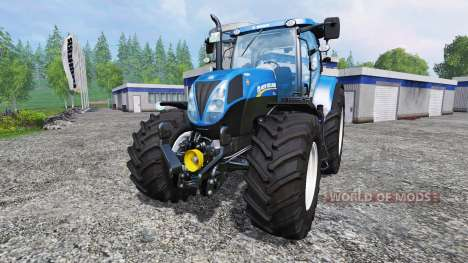 New Holland T7.210 v1.0.1 для Farming Simulator 2015