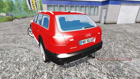 Audi A6 (C6) Allroad для Farming Simulator 2015