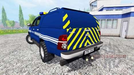 Toyota Hilux [gendarmerie] для Farming Simulator 2015