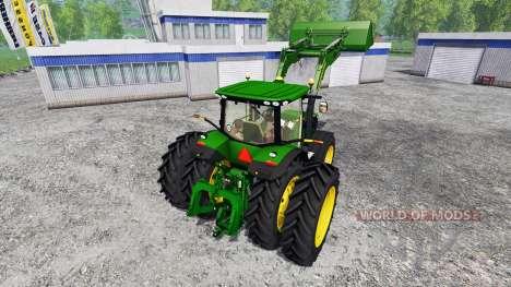 John Deere 7310R FL для Farming Simulator 2015