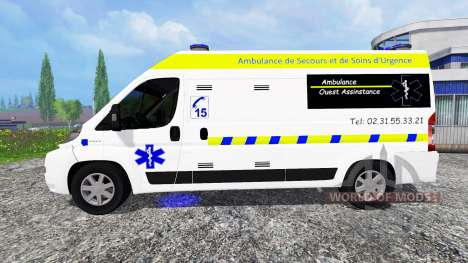 Peugeot Boxer Ambulance для Farming Simulator 2015