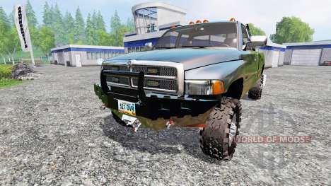 Dodge Ram 2500 для Farming Simulator 2015
