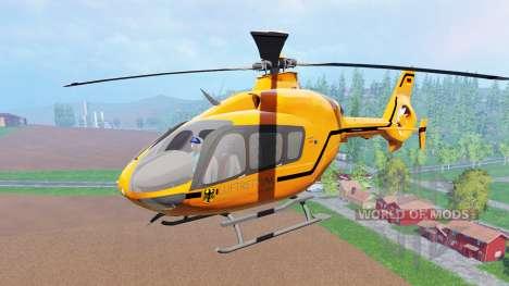 Eurocopter EC145 MedEvac для Farming Simulator 2015