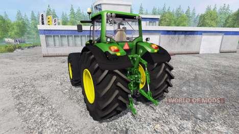 John Deere 6175M для Farming Simulator 2015