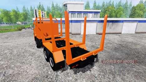 КамАЗ-43118 [лесовоз] для Farming Simulator 2015