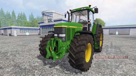John Deere 7810 [washable] v2.0 для Farming Simulator 2015