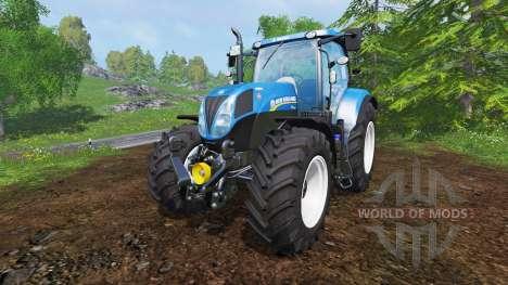 New Holland T7.200 v1.0.2 для Farming Simulator 2015