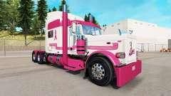 Скин Trucking for a Cure на тягач Peterbilt 389 для American Truck Simulator