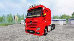 Mercedes-Benz Actros MP4 SLT