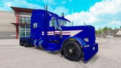 Скин Jarco Transport на тягач Peterbilt 389 для American Truck Simulator