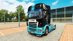 Скин Scania R на тягач Scania для Euro Truck Simulator 2