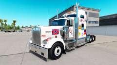Скин MS на тягач Kenworth W900 для American Truck Simulator