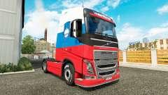 Скин Slovenia на тягач Volvo для Euro Truck Simulator 2