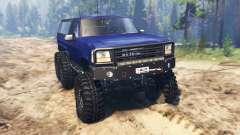 Ford Bronco 6x6 для Spin Tires