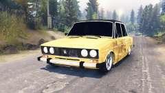 ВАЗ-2106 v2.0 для Spin Tires