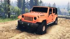 Jeep Wrangler Unlimited для Spin Tires