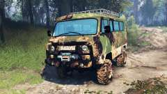 УАЗ-2206 v4.0 для Spin Tires