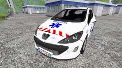 Peugeot 308 [medecin samu]