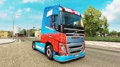 Скин Help For Heroes на тягач Volvo для Euro Truck Simulator 2