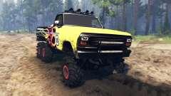 Ford F-100 6x6 custom v2.0 для Spin Tires