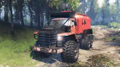 Урал-4320 Полярник v2.0 для Spin Tires