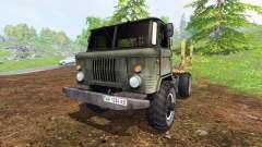 ГАЗ-66 [лесовоз]