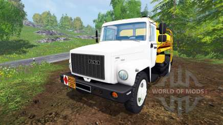 ГАЗ-САЗ-35071 [бензовоз] для Farming Simulator 2015