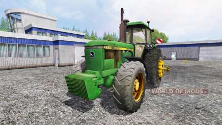 John Deere 4650 v2.0 для Farming Simulator 2015
