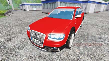 Audi A6 (C6) Allroad для Farming Simulator 2015