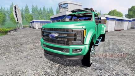 Ford F-450 Super Duty 2017 [platinum edition] для Farming Simulator 2015