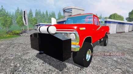 Ford F-250 1972 [highboy puller] для Farming Simulator 2015