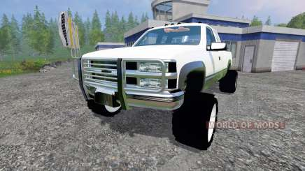 Chevrolet Silverado 1996 v1.1 для Farming Simulator 2015