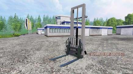 Навесной гидравлический подъёмник для Farming Simulator 2015