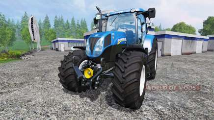 New Holland T7.210 v1.0.1 для Farming Simulator 2015