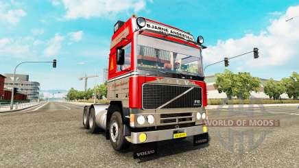 Volvo F10 P. Bjarne Andersen для Euro Truck Simulator 2